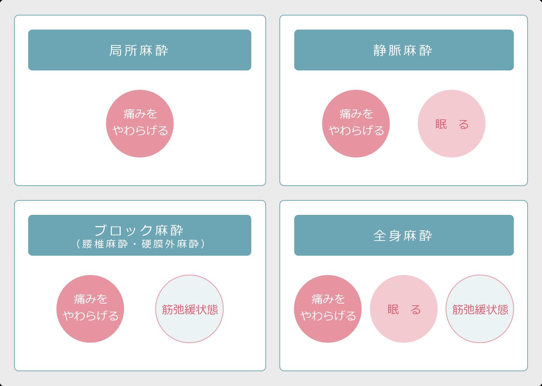 麻酔分類図